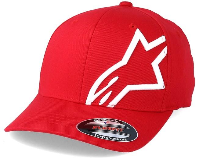 e17bd12b1783a Corp Shift 2 Red White - Alpinestars caps