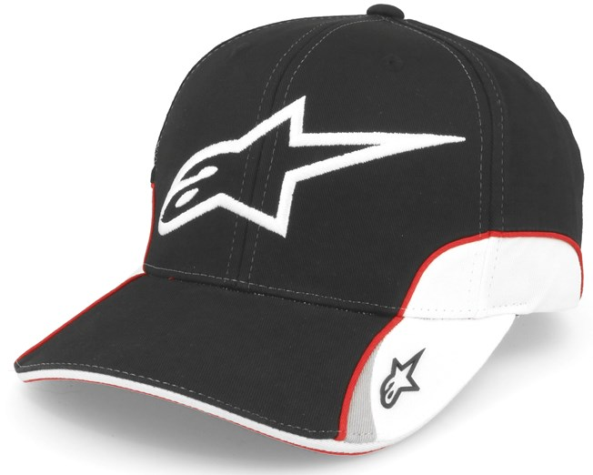 2ea6dae338a Champion Black Adjustable - Alpinestars caps - Hatstoreworld.com