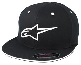 Ageless Flat Black/White Fitted - Alpinestars