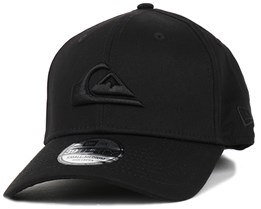 M & W Black 39Thirty Flexfit - Quiksilver