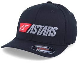 Indulgent Black/Red/Charcoal Flexfit - Alpinestars