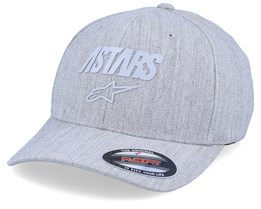 Angle Reflect Heather Grey/Grey Flexfit - Alpinestars
