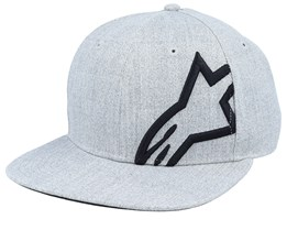 Corp Heather Grey/Black Snapback - Alpinestars