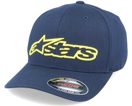 Blaze  Navy / Yellow Flexfit - Alpinestars