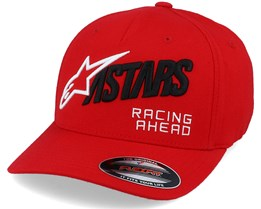 Title Hat Red Flexfit Flexfit - Alpinestars