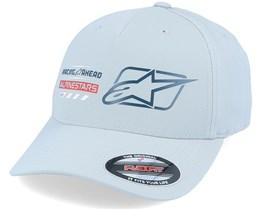 World Tour Hat Grey Flexfit - Alpinestars