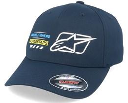 World Tour Hat Navy Flexfit - Alpinestars