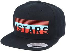 Bumper Hat Black Snapback - Alpinestars