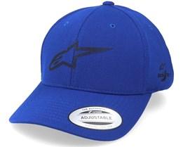 Ageless Velo Tech Hat Royal Blue Adjustable - Alpinestars