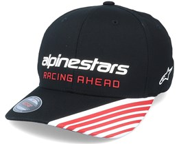 Phase Race Black Flexfit - Alpinestars
