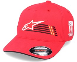 Overtake Race Red Flexfit - Alpinestars