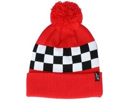 Winning Red/Checkered Pom - Alpinestars