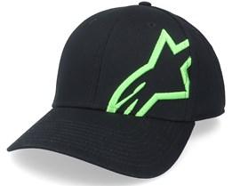 Corp Snap 2 Hat Black/Green Adjustable - Alpinestars