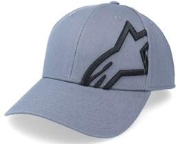 Corp Snap 2 Hat Charcoal/Black Adjustable - Alpinestars