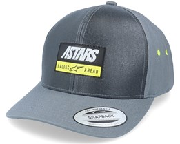 Data Hat Charcoal Adjustable - Alpinestars