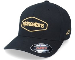 Outland Hat Black Flexfit - Alpinestars