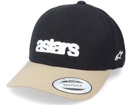 History Hat Black/Sand Adjustable - Alpinestars