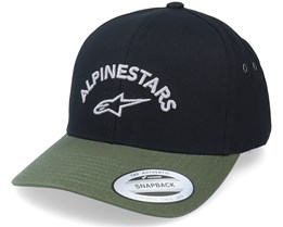 Arced Hat Black/Military Adjustable - Alpinestars