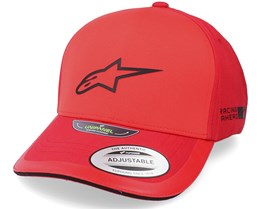 Sleek Hat Red Adjustable - Alpinestars