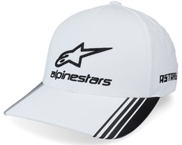 Agx Hat White Adjustable - Alpinestars