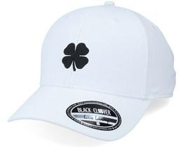 Cool Luck 1 White/White Clover Adjustable - Black Clover