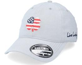USA Cloud/USA Dad Cap - Black Clover