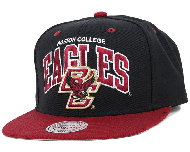 6b640b345a397 Boston College Eagles Team Arch Snapback - Mitchell   Ness caps ...