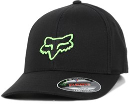 Kids Legacy Black/Green Flexfit - Fox