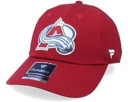 Colorado Avalanche Primary Logo Core Claret Dad Cap - Fanatics