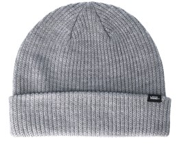 Core Basic Heather Grey Beanie - Vans
