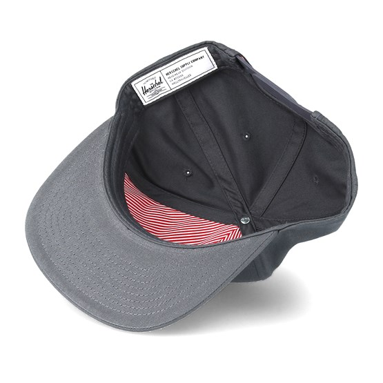83597289f Scope Light Charcoal Snapback - Herschel