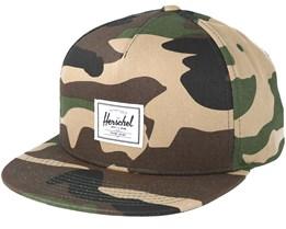 Dean Woodland Camo Snapback - Herschel