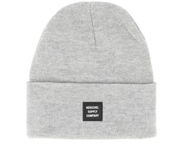 Abbott Heather Light Grey/Black Beanie - Herschel