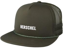 Whaler Mesh Print Army/White Trucker - Herschel