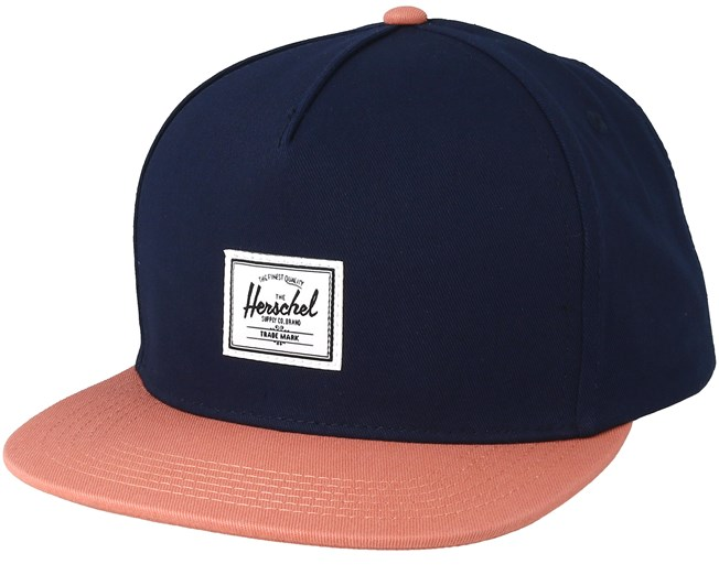 sale retailer 8ac6e c1126 Dean Peacoat Carnelian Snapback - Herschel
