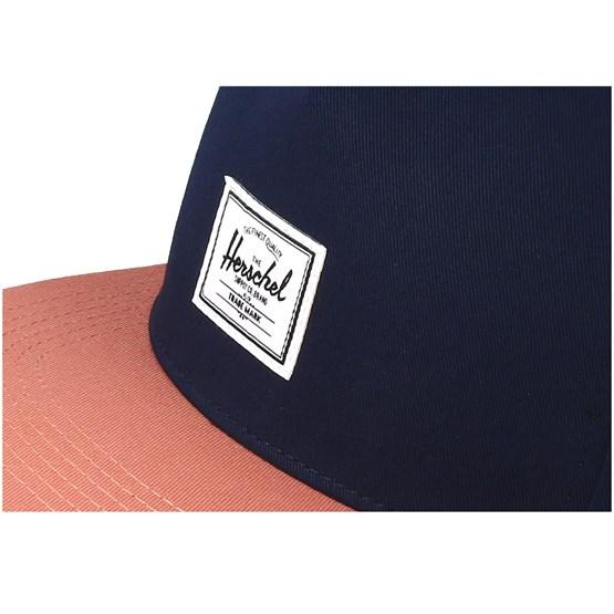 low cost 72c3f 68282 Dean Peacoat Carnelian Snapback - Herschel caps - Hatstoreworld.com