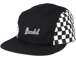 Glendale Black/Checkerbord 5-Panel - Herschel