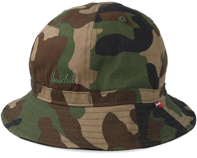 3bd9c2fe3c32 Cooperman Woodland Camo Bucket - Herschel hats   Hatstore.co.uk