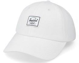 Sylas Classic Blanc De Blanc White Denim Dad Cap - Herschel