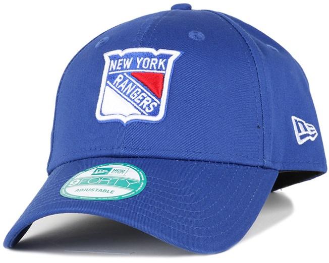 NY Rangers League Basic Team 940 Adjustable - New Era - Start Boné ... 1e20405bb6d