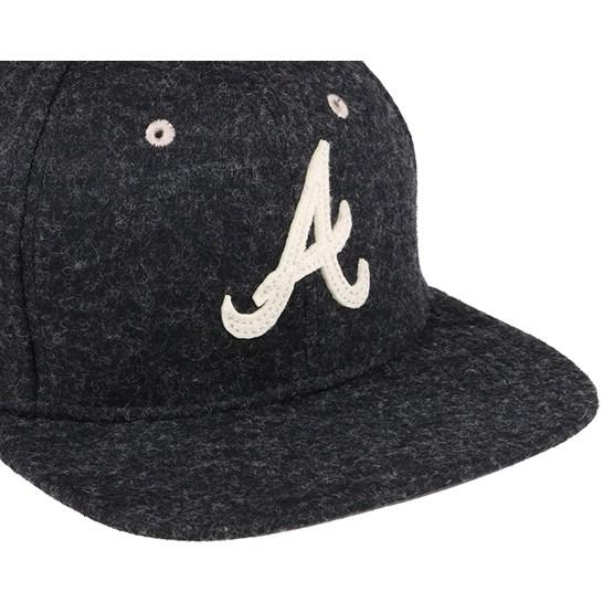 Atlanta Braves Felt Wool Graphite 9Fifty Snapback - New Era caps -  Hatstoreaustralia.com 1a1bc873c65d