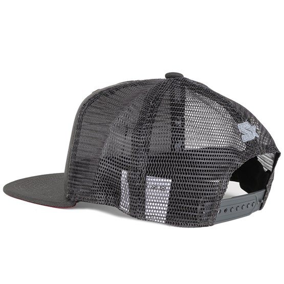 Brawley Charcoal Grey Duck Snapback - Dickies caps - Hatstoreworld.com 9b53d746b30e