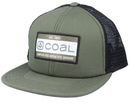 Vernon Olive/Black Trucker - Coal