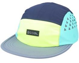 Provo Cap Neon Yellow 5-Panel - Coal