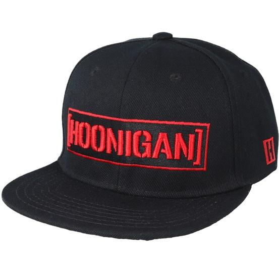 ee6e303a7 Black Widow Black Snapback - Hoonigan