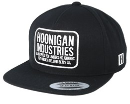 Hoonigan Shop Black Snapback - Hoonigan