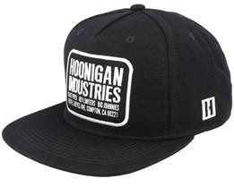 Hoonigan Shop Black Snapback - Hoonigan