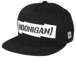 Gymkhana 10 Cb Black/White Snapback - Hoonigan