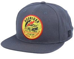 Stage Charcoal Snapback - Hoonigan