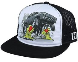 Tri 5 By Fire Trucker White/Black Trucker - Hoonigan